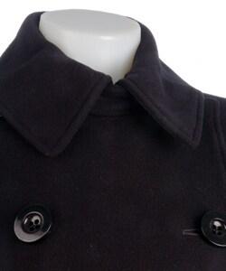 Marvin Richards Women's Cashmere Blend Peacoat