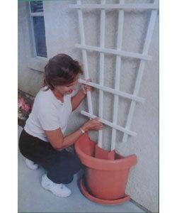 Garden and Patio Split Pot