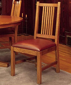 Mission Cherry Oak 5-piece Dining Set