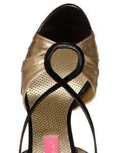 Betsey Johnson 'Coral' Evening Wedge Sandals