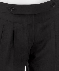 Laundry by Design Women's Black Pleated Pants