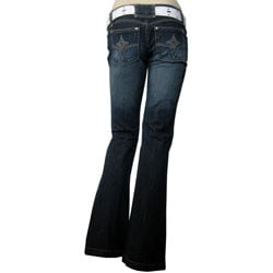 NOBO Denim Jean w/Stud Trim Belt