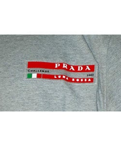 Prada Men's Grey Challenge for America's Cup 2003 T-Shirt