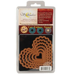 Wizard Nestabilities Nesting Cutting and Embossing Craft Die Set