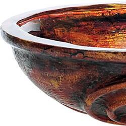 Kraus Tuscan 19mm thick Glass Vessel Sink