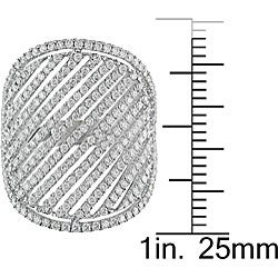 18k White Gold 1 2/5ct TDW Diamond Ring (G-H-I, SI)