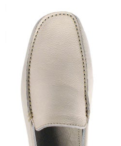 Versace Men's Leather Driving Moccasins
