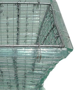 Recycled Glass Natural BB Lamp (Indonesia)