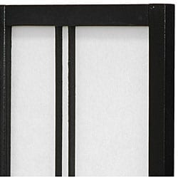 Double Cross 24-inch 4-panel Shoji Screen (China)