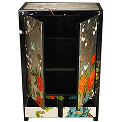Birds and Butterflies Storage Cabinet