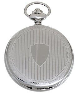 Solid Stainless Steel Pocket Watch