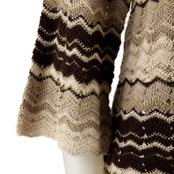 David Brooks Women's Missoni Crochet Sweater