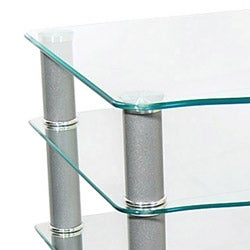 Glass Component Media Stand