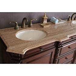 Brenna 72-inch Double Sink Bathroom Vanity