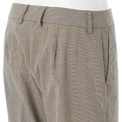 Glen River Women's Plaid Houndstooth Pants