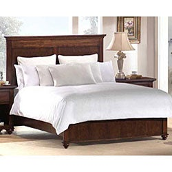 Tall Headboard Platform Queen-size Bed