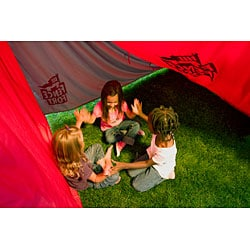 Fence Fort Portable Backyard Child Fort