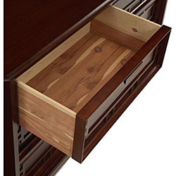 Kyomi Asian-style Six-drawer Dresser