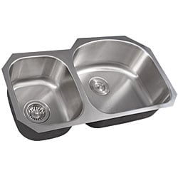 Ticor Stainless Steel 16-gauge Undermount Kitchen Sink