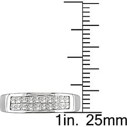 Miadora 14k Gold 1/2ct TDW Princess-cut Diamond Ring (G-H, I1-I2)