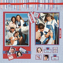 June '06 Personal Shopper Scrapbooking Kit
