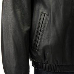 Chaps Men's Leather Jacket