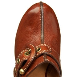Frye Women's 'Donna' High Heel Buckle Clogs
