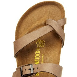 Birkenstock Women's 'Cozumel' Silky Suede Slip-on Sandals FINAL SALE