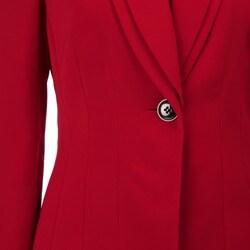 Tahari ASL Women's 'Bellagio' Red Pant Suit