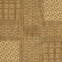 Indoor/ Outdoor Lakeview Brown/ Natural Rug (2'7 x 5')