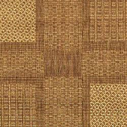 Safavieh Indoor/ Outdoor Lakeview Brown/ Natural Rug (5'3 Round)