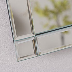 Kinana Frameless Beveled Mirror