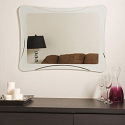 Frameless 'Shapes' Mirror
