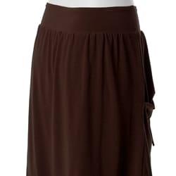 Adi S Max by Women's Balloon Hem Stretch-knit Skirt