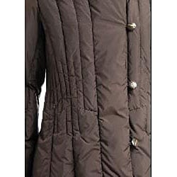 Larry Levine Women's Hooded Down Jacket