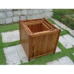 Square 20-inch Flower Box
