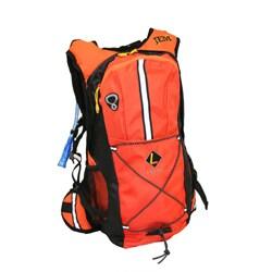 Jem 2-liter Premium Wide Open Fill Cap Orange Hydration Pack