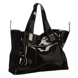 Presa 'Dorrington' Large Patent Leather Convertible Shoulder Bag