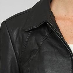 Izod Women's Plus Size New Zealand Lamb Princess Seamed Jacket