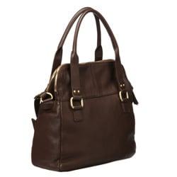 Presa 'Camden' Leather Crossbody Handbag