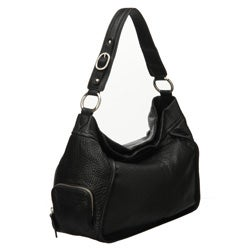 Presa 'Holbrook' Leather Side-zip Hobo-style Bag