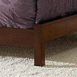 Noho Gallery Warm Cherry Eastern King-size Bed