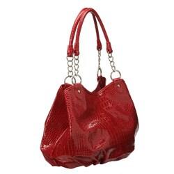 fake birkin bags for sale - Valencia Shiny Faux Croc Handbag - 12214396 - Overstock.com ...
