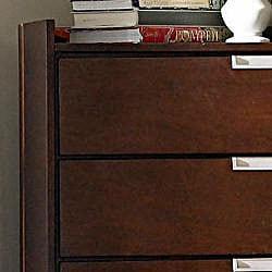 Noho 5-piece Warm Cherry Full Bedroom Set