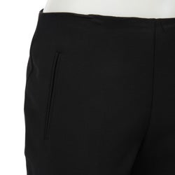 Larry Levine Women's Clean Waist Pants