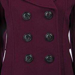 Laundry by Shelli Segal Women's Long Wool Coat