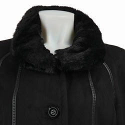 Gallery Women's Full-length Faux Fur Coat