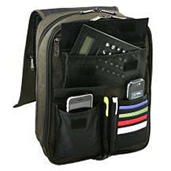 Avenues Microfiber Double Gusset Compact Laptop Backpack