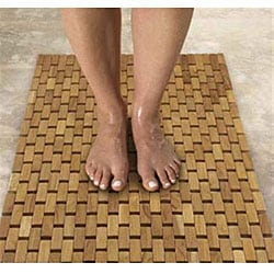 Pollenex by Conair Flexible Teak Shower Mat