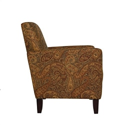 Portfolio Gia Paisley Urban Arm Accent Chair
